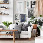 RE-CREATE THE LOOK: 12 SCANDINAVIAN GALLERY WALL IDEAS YOU'LL LOVE. Hey, Djangles. heydjangles.com. Scandinavian Gallery Wall, Scandinavian Living Room. Image source: Fantastic Frank