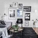RE-CREATE THE LOOK: 12 SCANDINAVIAN GALLERY WALL IDEAS YOU'LL LOVE. Hey, Djangles. heydjangles.com. Scandinavian Gallery Wall, Scandinavian Living Room. Image source: Instagram @madebyintro