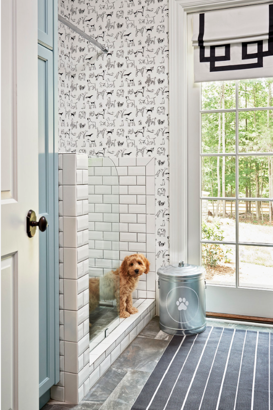 12 GENIUS MUDROOM DOG WASH STATION IDEAS FOR PET LOVERS - Hey, Djangles. heydjangles.com - Photography: Dustin Peck