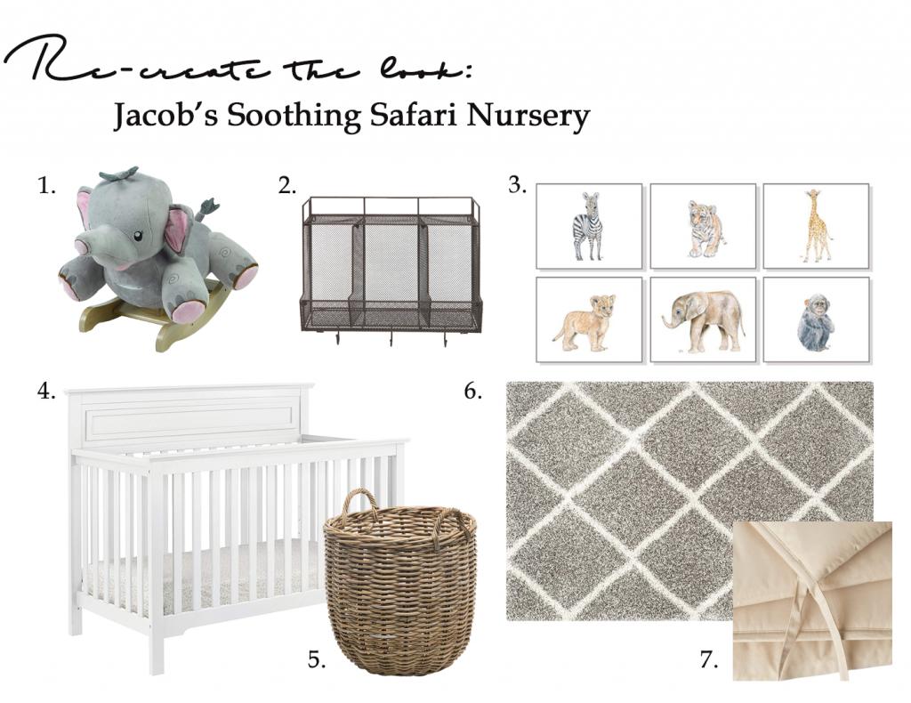 Gender-neutral baby nursery inspiration. 5 TOTALLY ACHIEVABLE GENDER-NEUTRAL BABY NURSERY LOOKS + HOW TO GET THEM - So adorable! #babynursery #nurserydecor #farmhousestyle