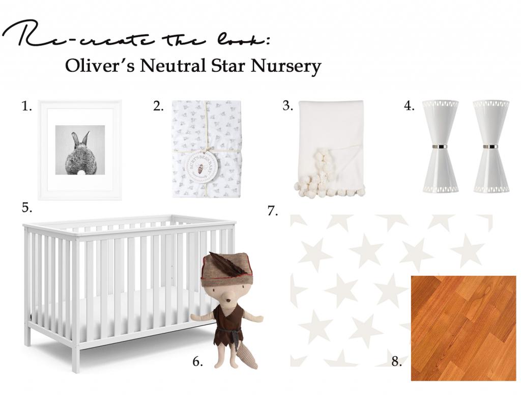 Gender-neutral baby nursery inspiration. 5 TOTALLY ACHIEVABLE GENDER-NEUTRAL BABY NURSERY LOOKS + HOW TO GET THEM. So adorable! #babynursery #nurserydecor