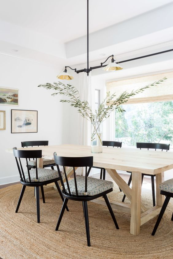 Black Windsor Style dining chair inspiration and product round-up. Something for every budget. heydjangles.com - Farmhouse Dining Chairs, Windsor Chairs, Black Dining Chairs. Photograph: Amy Bartlam #farmhousestyle #modernfarmhouse
