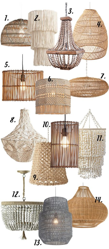 Modern Boho Chandeliers Pendant Lights 14 Chic Options Hey Djangles Heydjangles
