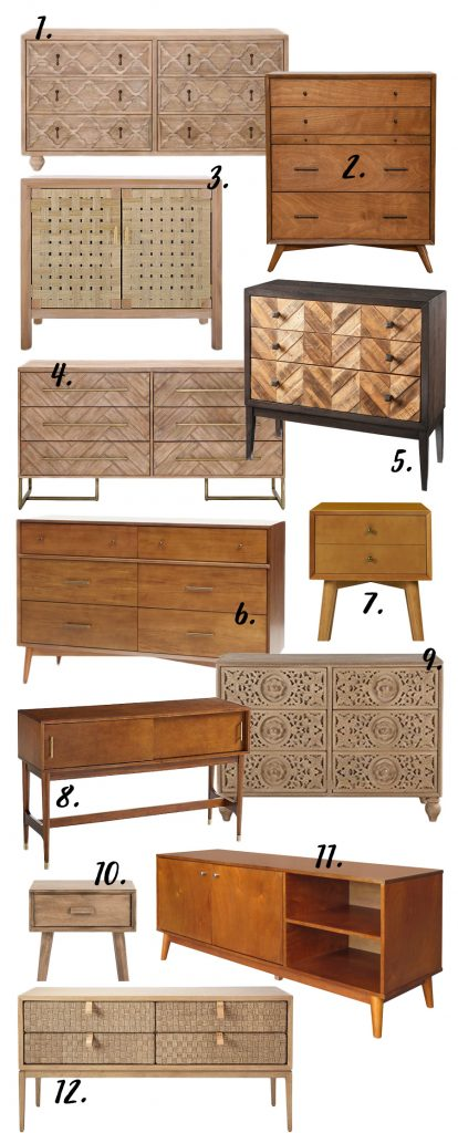 12 MODERN BOHEMIAN BEDROOM STORAGE OPTIONS STARTING FROM $105 - Hey, Djangles. heydjangles.com - bohemian bedroom storage ideas, bohemian bedroom decor, bohemian bedroom furniture dressers, bohemian bedroom furniture ideas, bohemian bedroom ideas, boho bedroom ideas, boho furniture bedroom, bohemian chic bedroom.