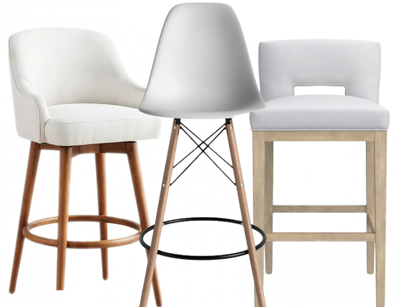 Swell White Bar Stools With Backs 12 Options Hey Djangles Alphanode Cool Chair Designs And Ideas Alphanodeonline
