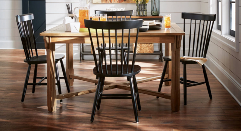 FARMHOUSE STYLE: BLACK WINDSOR DINING CHAIRS FOR EVERY ...