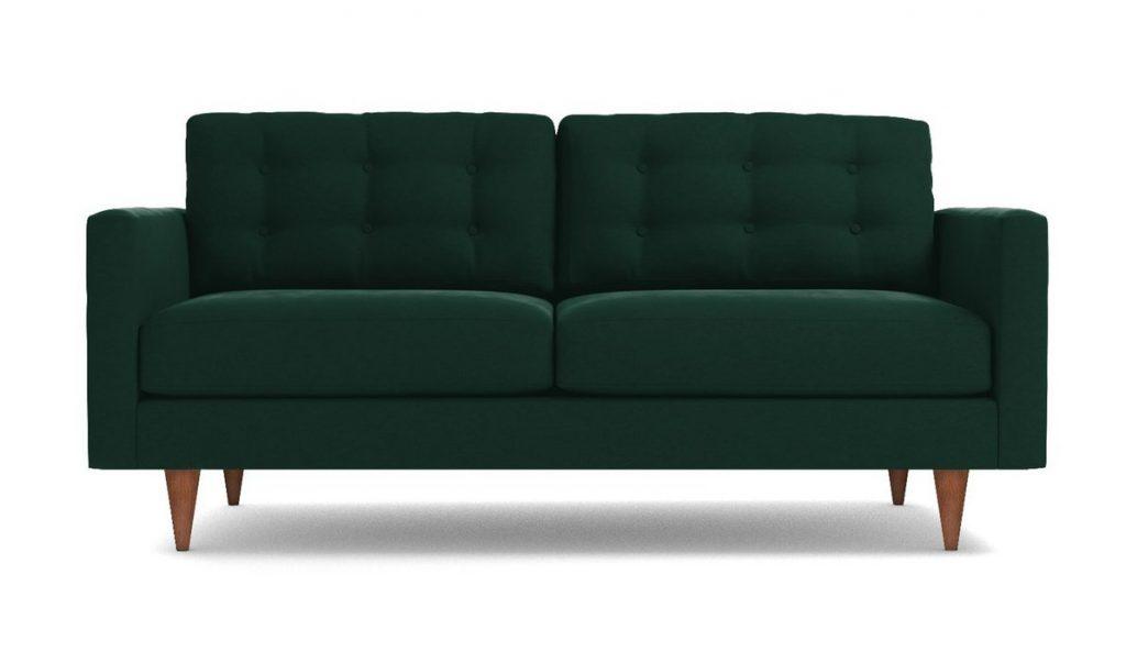 Logan Sofa in Evergreen Velvet Apt2B
