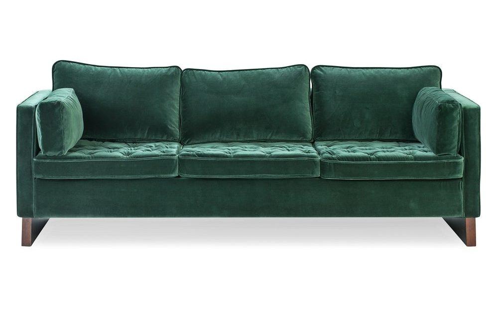 Kardiel Mid-Century Wexler 87″ Sofa Overstock