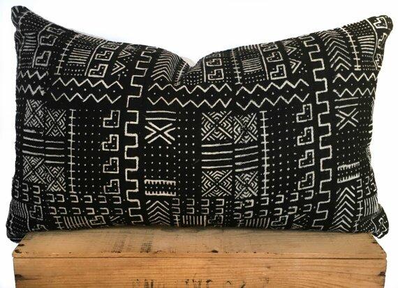 African Print Lumbar Pillow Cover Wayfair
