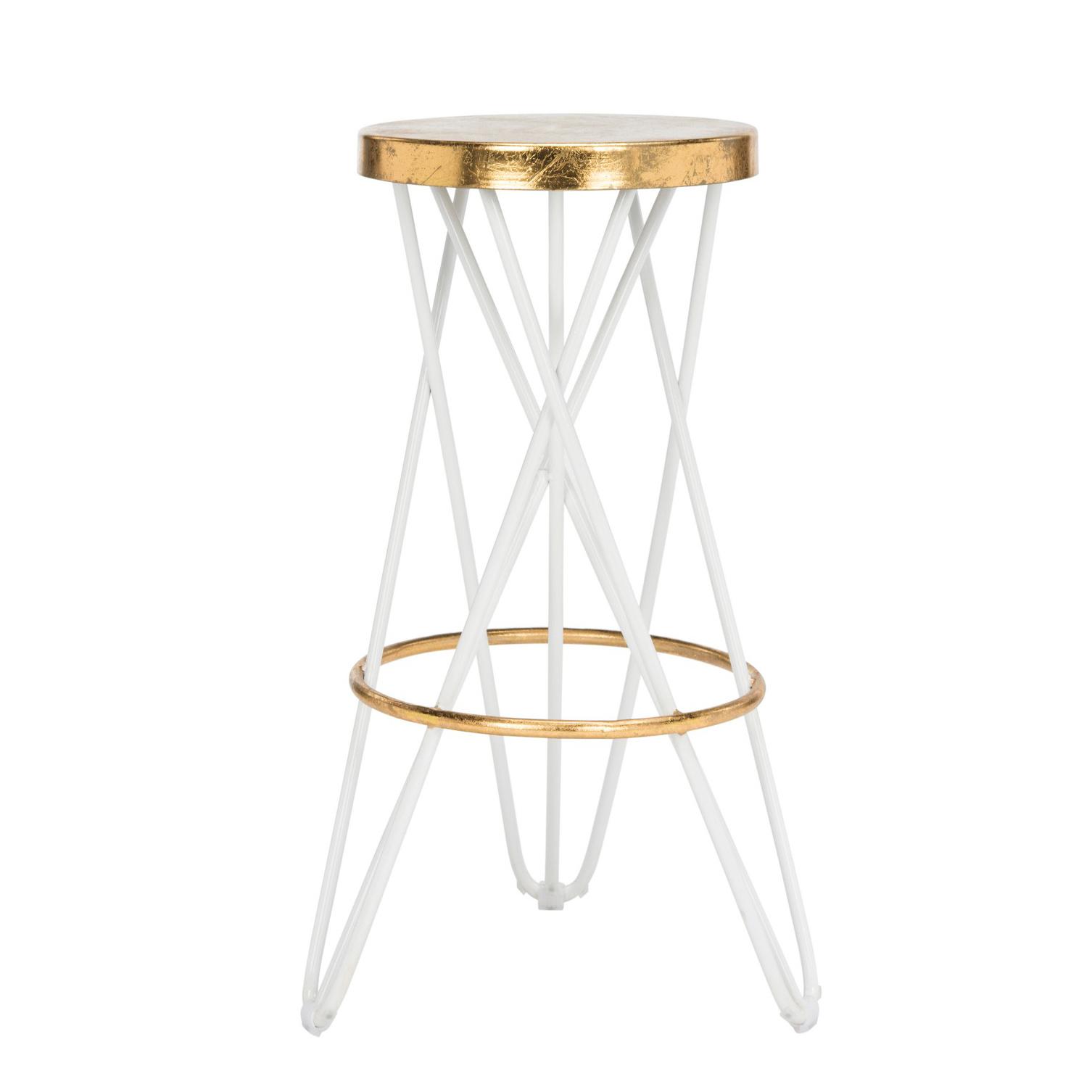 gold backless bar stool, gold bar stools