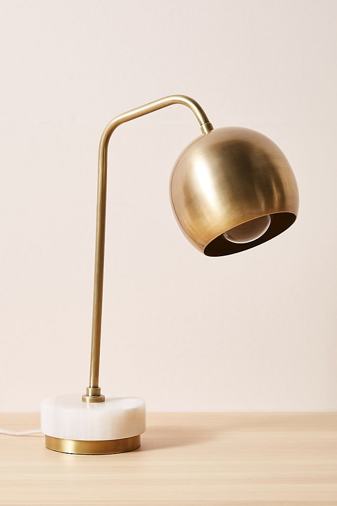 Desk Lamp via Anthropologie