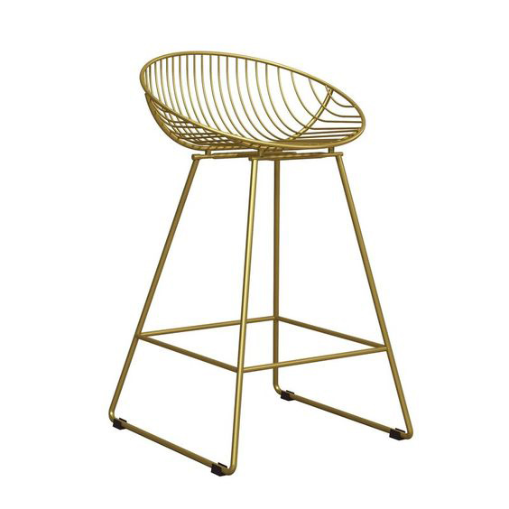 gold bar stool with back, gold bar stools