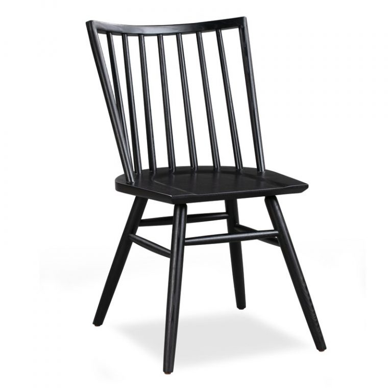 FARMHOUSE STYLE: Black Windsor Dining Chairs For Every Budget - Image via Wayfair