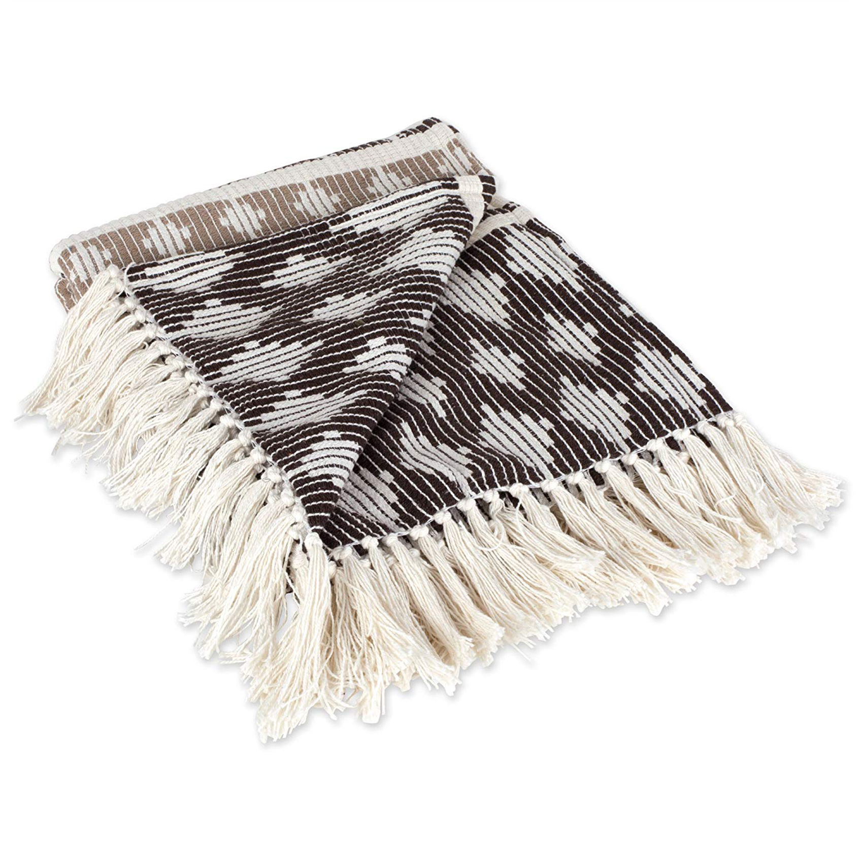 Aztec throw blanket, boho-chic home decor