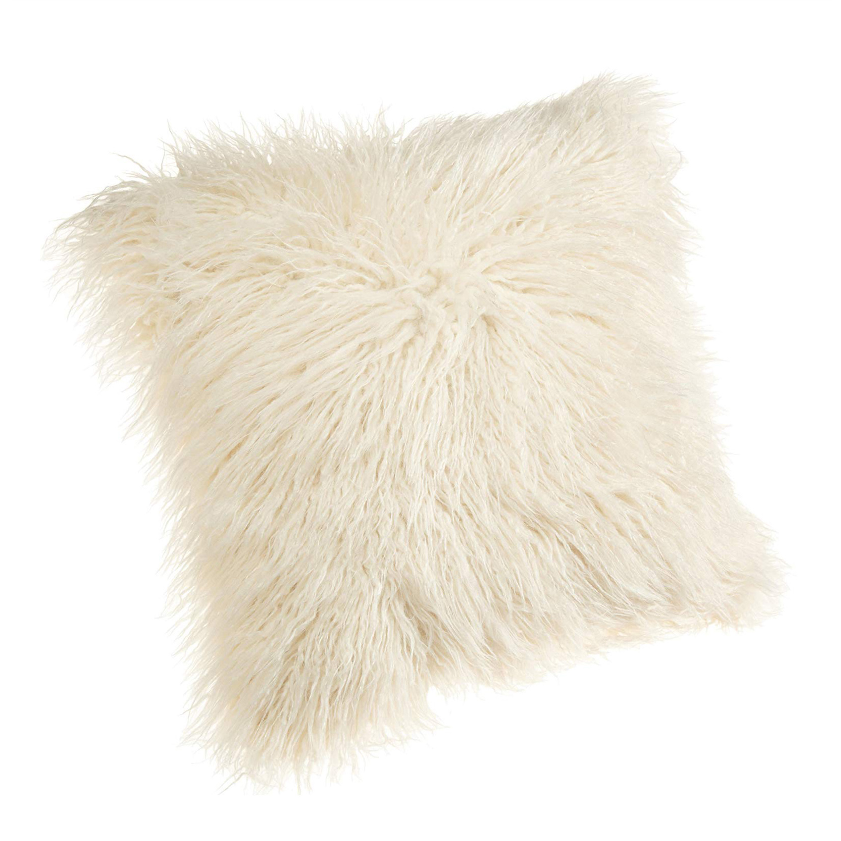 faux fur pillow, boho-chic home decor