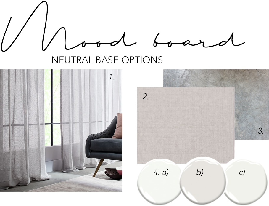 Step 1 - start with a neutral base when creating your modern minimalist living room - Sheer curtains, neutral flooring and paint colors are a great start. Thinks whites, beiges, light grays and lots of natural light. 6 SIMPLE STEPS TO CREATE YOUR OWN SLEEK MODERN MINIMALIST LIVING ROOM - Hey, Djangles. Bright and light modern minimalist living. heydjangles.com. #minimalistliving #minimalism