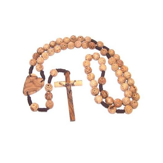 wall rosary beads, moody blue bedroom