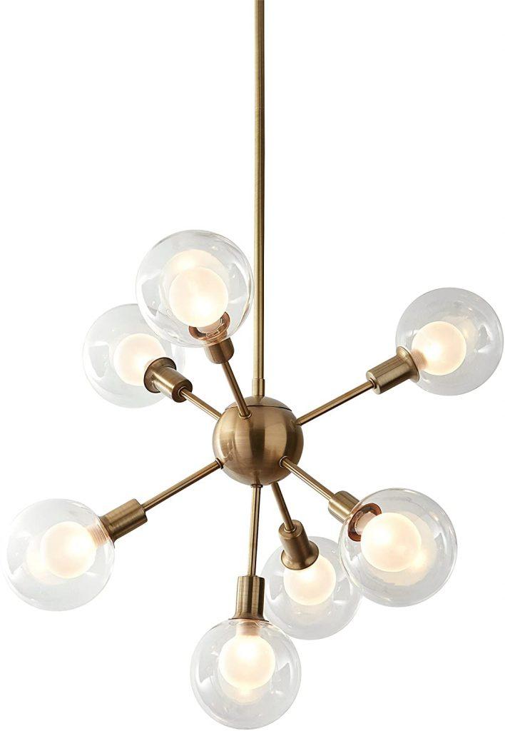 MidCentury Sputnik Chandelier via Rivet Store (Amazon)