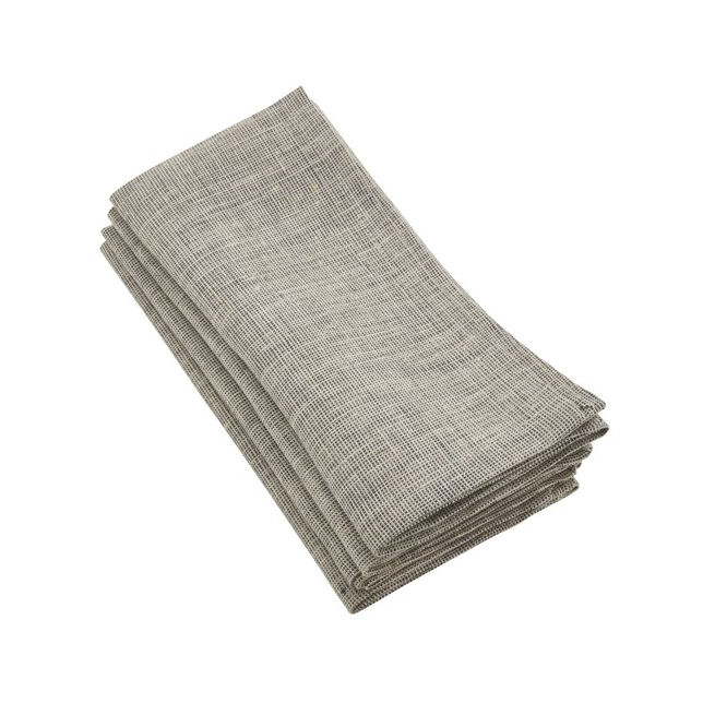gray linen napkins