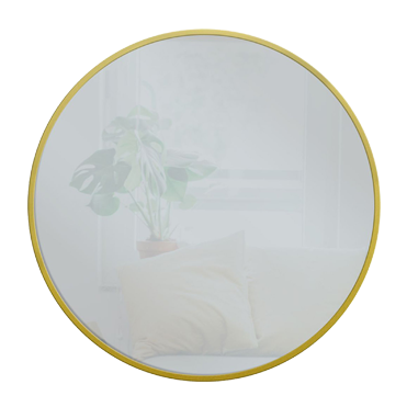 gold round wall mirror 28 inch, affiliate link
