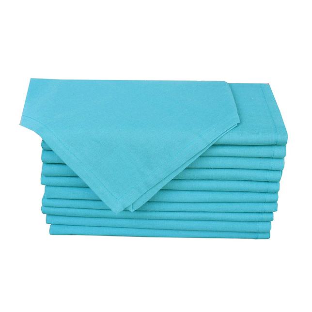 teal napkins