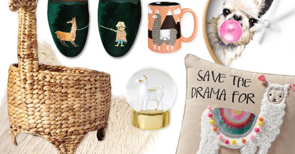 Best Llama Themed Home Decor & Gift Ideas