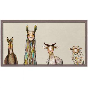 llama decor, llama wall art