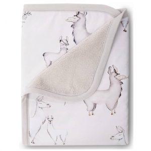 llama snuggle blanket, llama decor