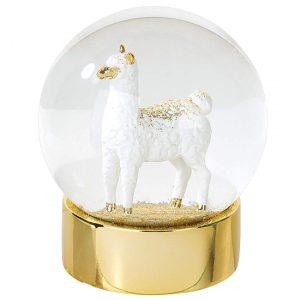 llama snow globe, llama gift