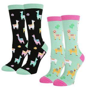 llama novelty socks, llama gifts
