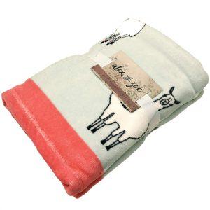 llama themed home decor, llama towel
