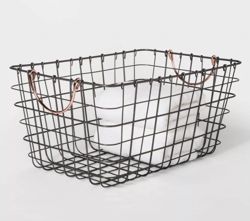 Wire Storage Basket via Target