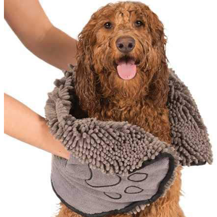 The Original Dirty Dog Shammy Quick Drying Towel via Amazon