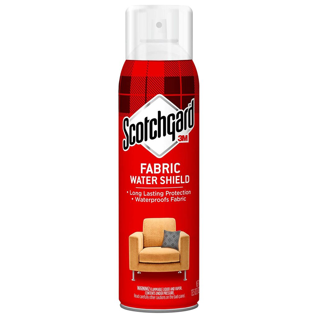 Scotchgard Fabric Water Shield, Long Lasting Protection via Amazon