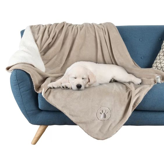 Petmaker Waterproof Pet Polyester Blanket via Wayfair