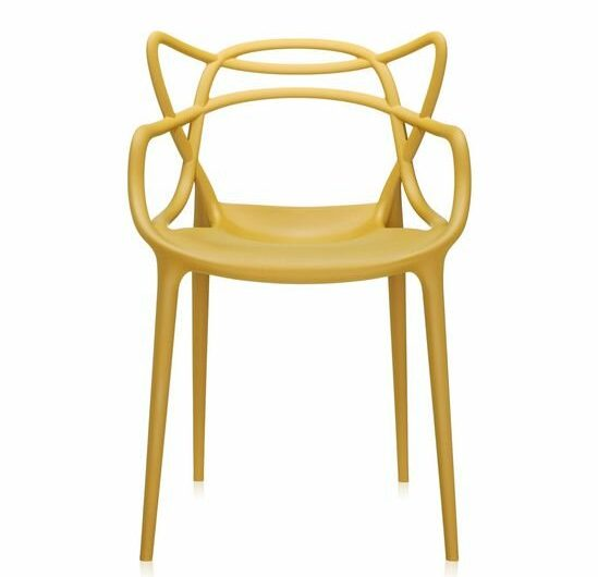 Mustard Yellow Dining Chair via All Modern