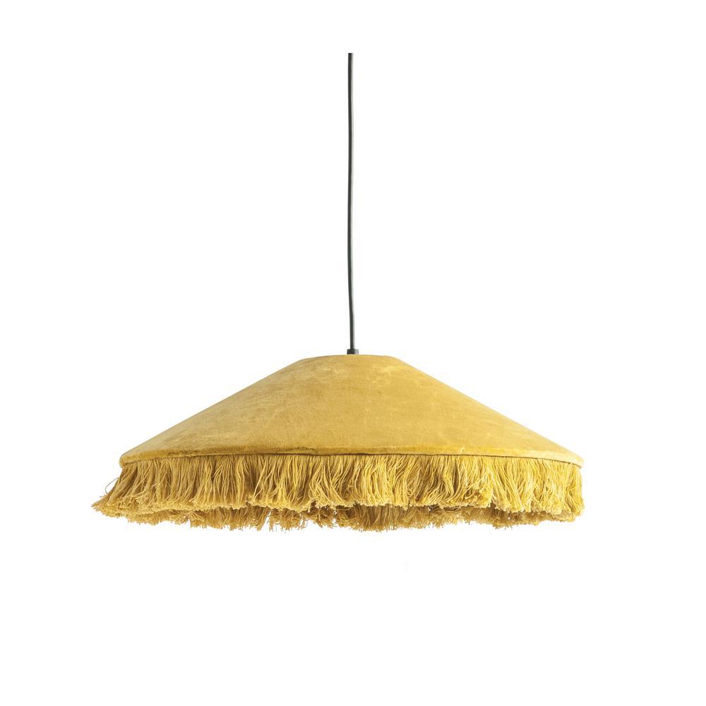 Velvet Mustard Pendant Light