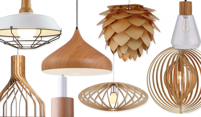 Round Up Affordable Modern Wooden Pendant Lights Hey