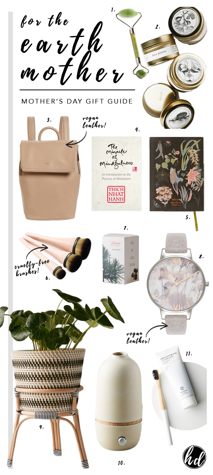 GIFT GUIDE: Eco-friendly Mother's Day Gift Ideas 2019 - Hey, Djangles. From cruelty-free beauty products and vegan leather goods to environmentally friendly self-care and wellness gifts, our 2019 Mother's Day Gift Guide has something for all the 'earth mother's' out there! Eco-friendly gift ideas, sustainable gift ideas, environmentally friendly gifts. #mothersday2019 #ecofriendlygifts #giftguide