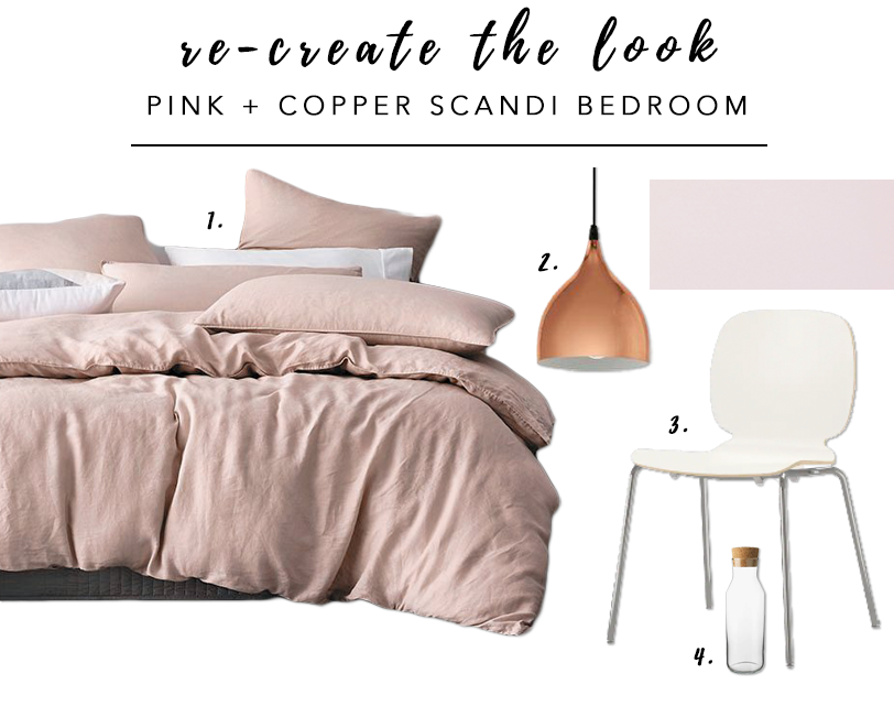 7 Gorgeous Pink Bedrooms That You Can Totally Re-create at Home - heydjangles.com. Pink Scandinavian bedroom decorating inspiration. Pink bedroom decor ideas. #pinkbedroom #scandinavianbedroom