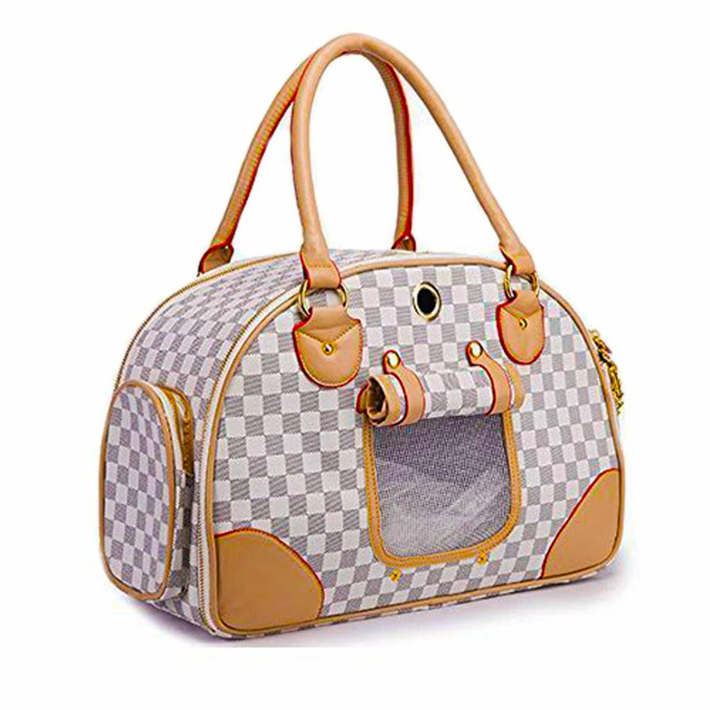 dog carrier purse bowler bag