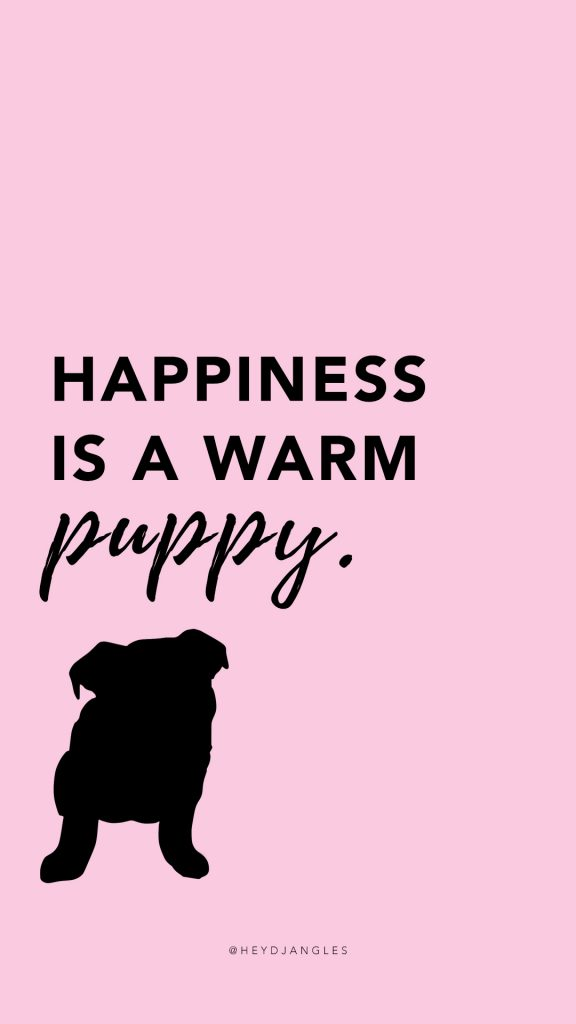 free hd dog quote wallpapers for mobile, puppy quote