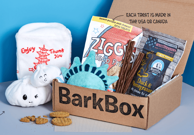 12 Gorgeous Gifts for New Puppy Parents, bark box dog subscription box