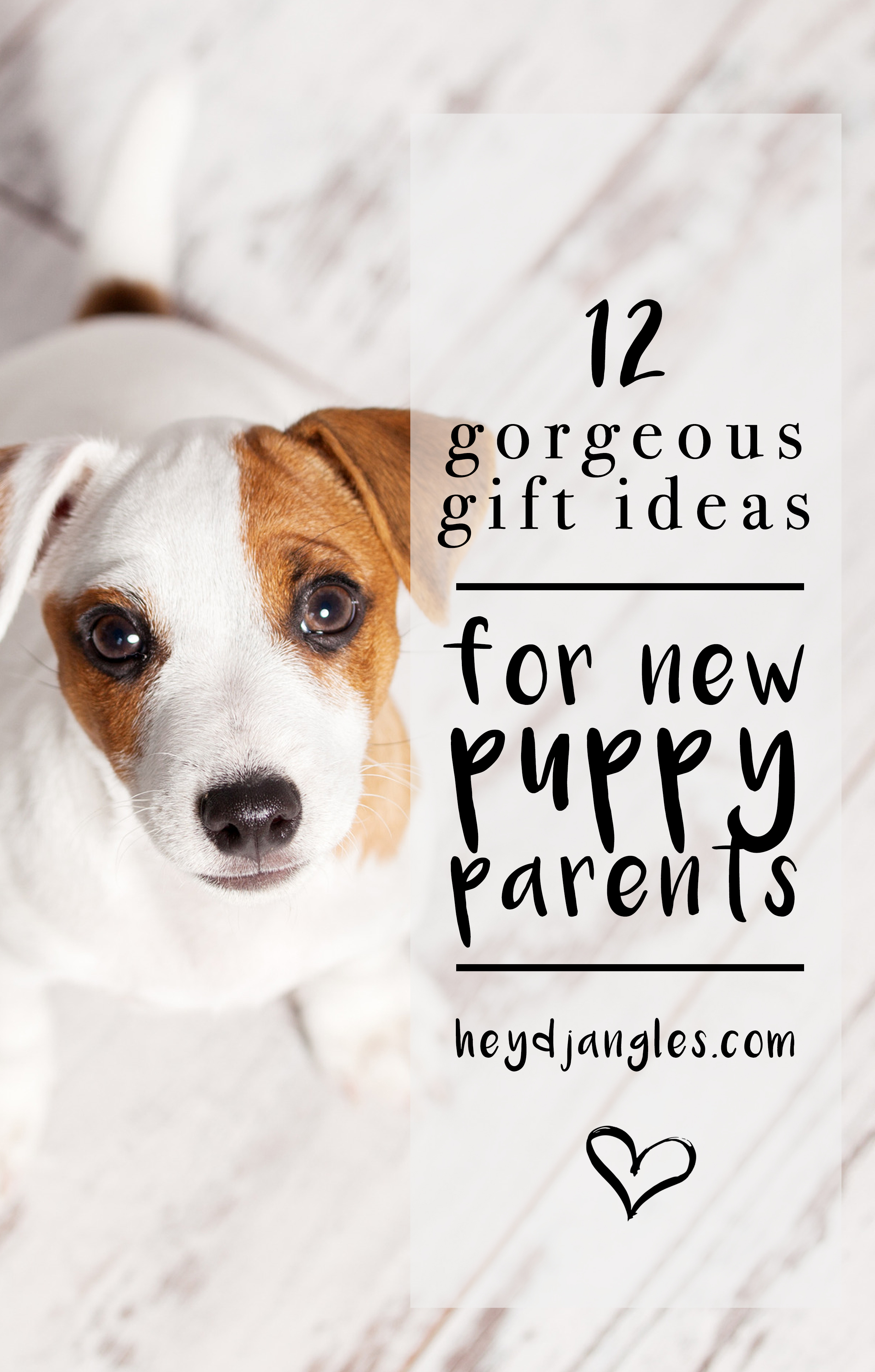 2 GORGEOUS GIFTS FOR NEW PUPPY PARENTS - Hey, Djangles. heydjangles.com, new puppy gift ideas, dog stuff, dog gifts, new dog owner gifts, puppy gift guide, first time dog owner gifts. #doglover #doggifts #puppylove