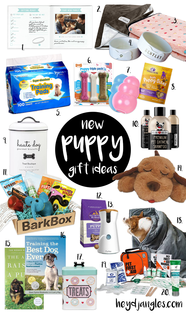 12 GORGEOUS GIFTS FOR NEW PUPPY PARENTS - Hey, Djangles. heydjangles.com, new puppy gift ideas, dog stuff, dog gifts, new dog owner gifts, puppy gift guide, first time dog owner gifts. #doglover #doggifts #puppylove