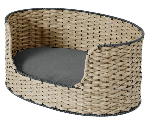 'Oli' Woven Pet Bed via Made.com