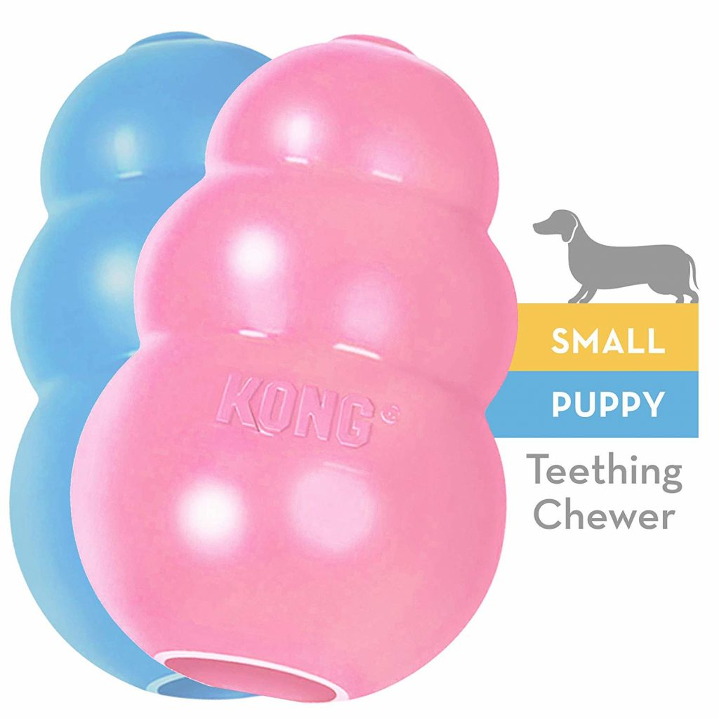 12 Gorgeous Gifts for New Puppy Parents, puppy kong toy, puppy chew toy