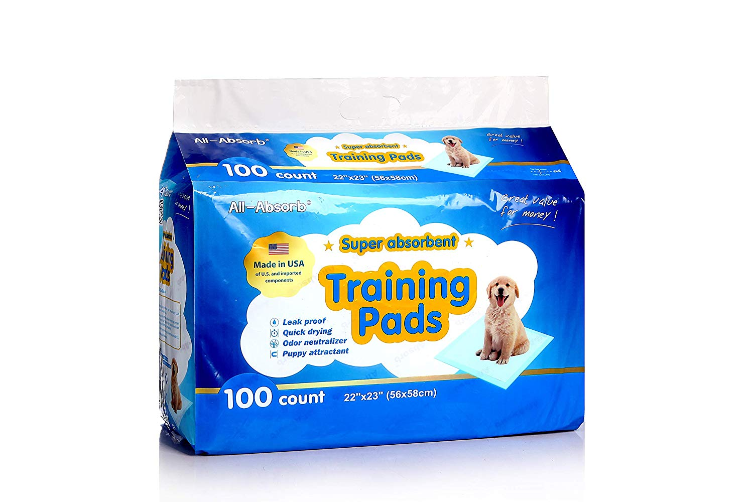 12 Gorgeous Gifts for New Puppy Parents, puppy training pads, puppy potty training