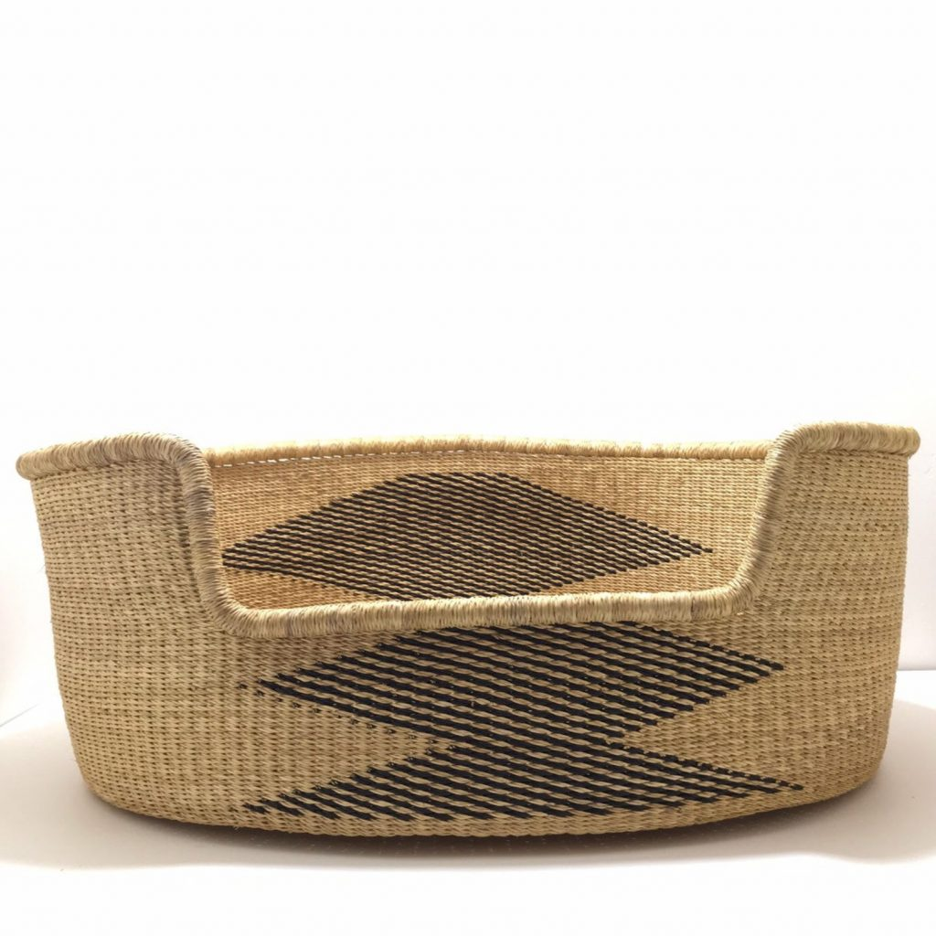 Woven Dog Basket from Zuri Rose & Co (Etsy)