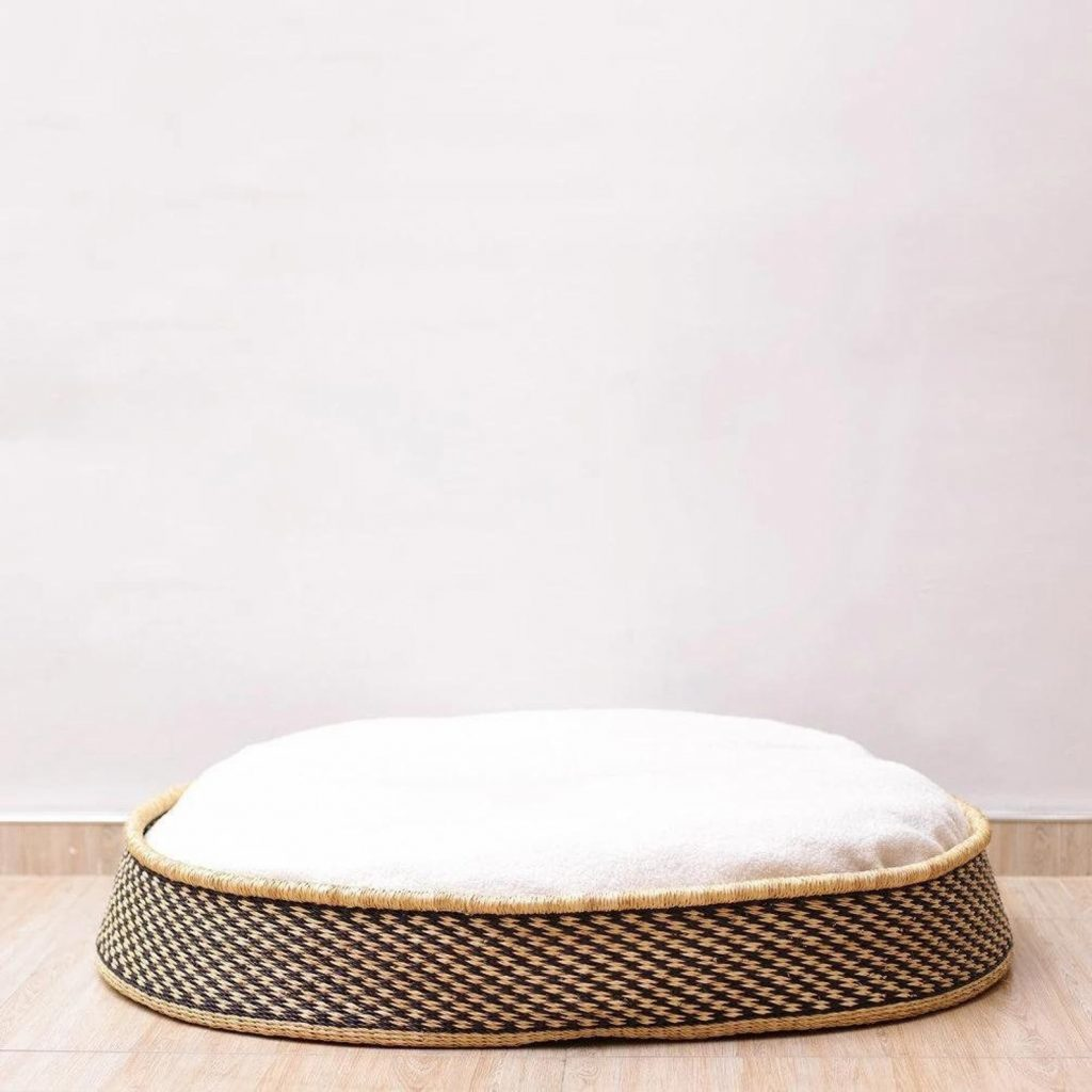 ROUND-UP: 25+ Rattan and Wicker Dog Beds and Baskets You'll Love - feat. Handmade Dog Bed from Home by Design Dua (Etsy)